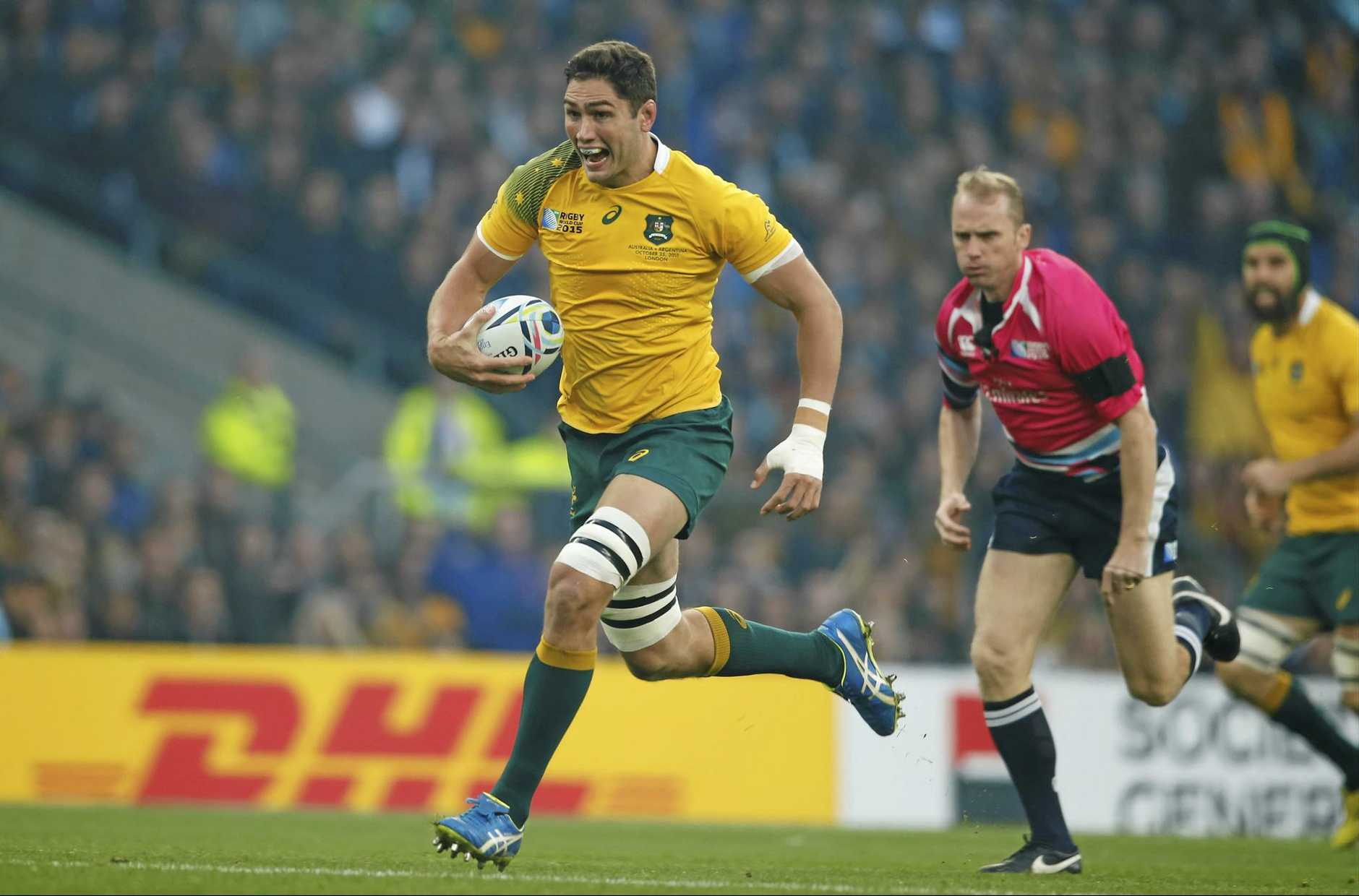 Rob Simmons will line up at lock for the Wallabies against the Pumas.