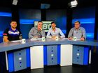 Goodna Eagles co-captain Cory Kirk (left) and Ipswich Rugby League treasurer Byron Whitehead (right) join After the 80 hosts Ben Wilmott and Anthony 'Bomber' Breeze to relive all the action of the grand finals