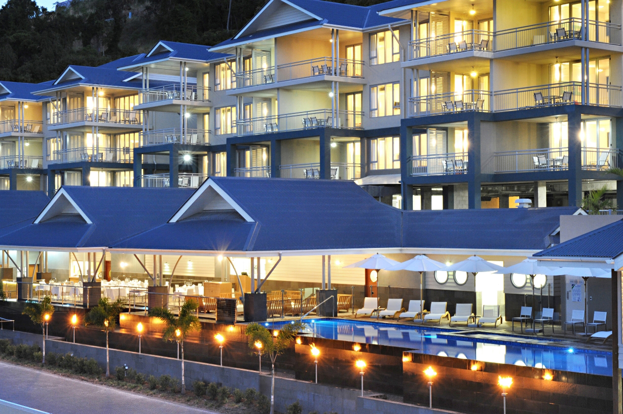 ON THE MARKET: Peppers Airlie Beach is being for recievership sale by CBRE Hotels and PRD Nationwide Airlie Beach.