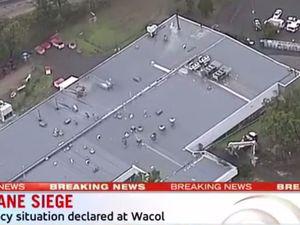 Wacol siege: Ex-worker threatens staff with knife