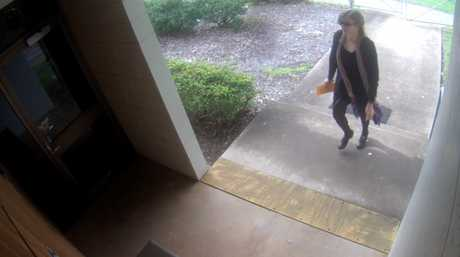 Police are appealing for help to locate this woman who attended the Drayton Police station on September 1.