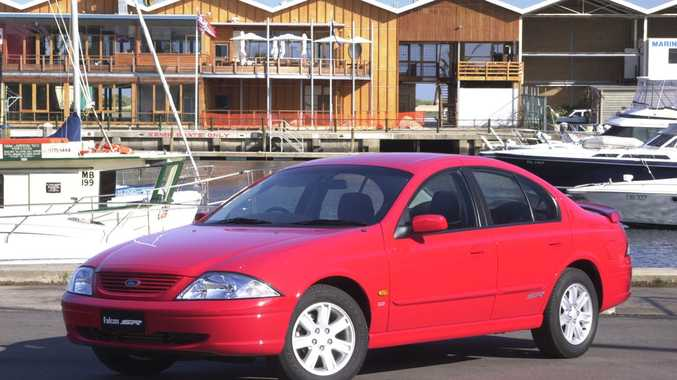 2001 Ford Falcon. Photo: Contributed