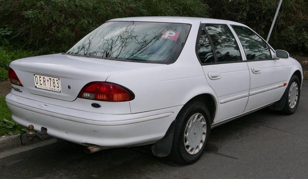 Ford Falcon (EL) Futura sedan. Photo: Contributed