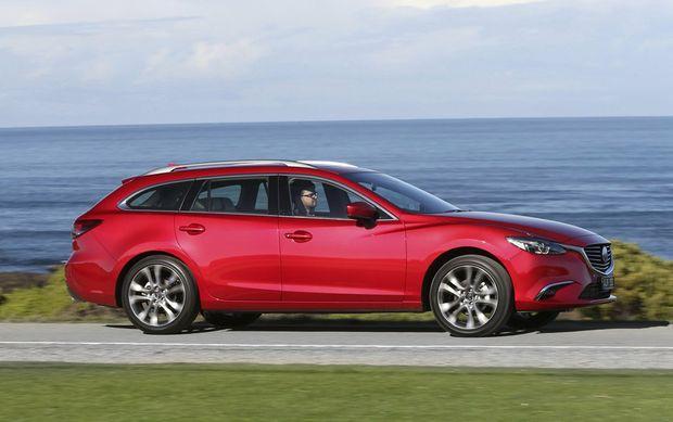 The Mazda6 wagon.