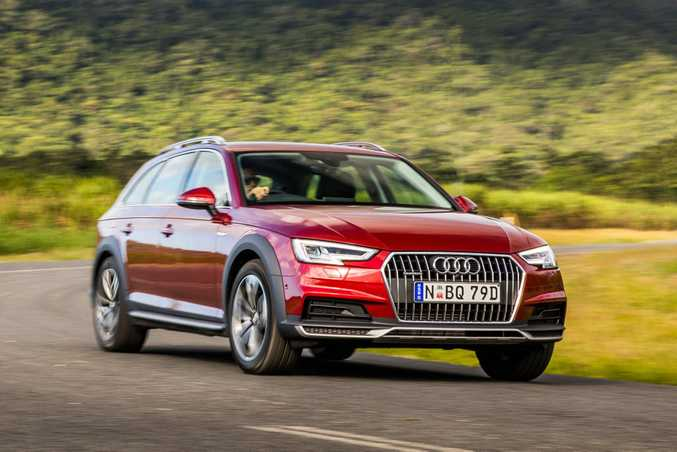 2016 Audi A4 Avant Allroad.Photo: Mark Bramley