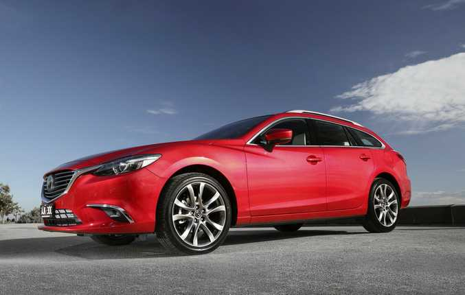 2016 Mazda6 Atenza Wagon.Photo: Contributed