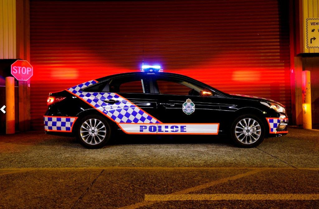 Queensland Police Service Hyundai Sonata.Photo: Contributed
