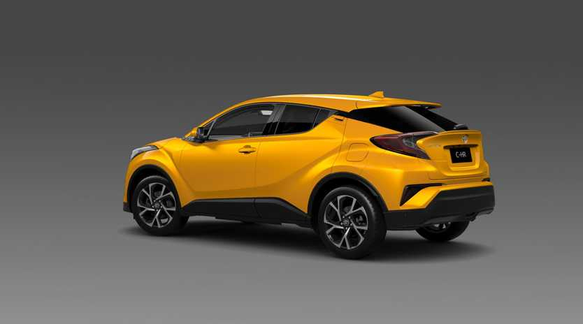 Toyota CH-R small SUV.Photo: Contributed.