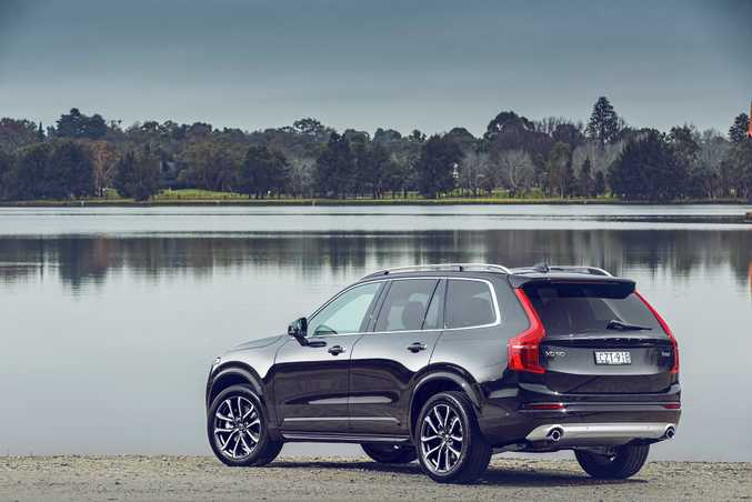 POPULAR CHOICE: Volvo's all-new XC90 has helped the Swedish brand see sales rise by 19% in 2016.
