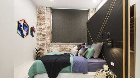Will and Karlie's second guest bedroom in a scene from The Block.