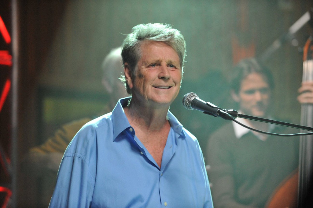 Brian Wilson in a scene from the TV special Brian Wilson & Friends.