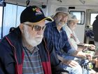 HAPPY TIMES: Veterans were out on last year's inaugural trip.