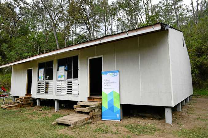 Apprenticeships Queensland and Skilling Queenslanders for Work are helping the Allawah Scout Camp to build and renovate new accommodation buildings at the site.