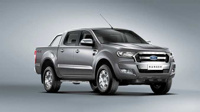 2015 Ford PX Ranger MkII.