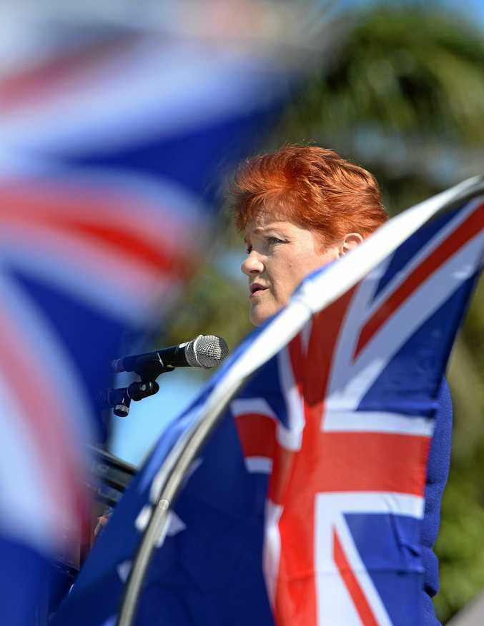 One Nation leader Pauline Hanson yesterday announced the candidates her party will put forward in the Ipswich and Lockyer regions in the Queensland election.