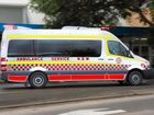 NSW ambulance in Coffs Harbour.