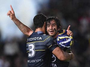 Cowboys just pip Broncos in ripper game of footy