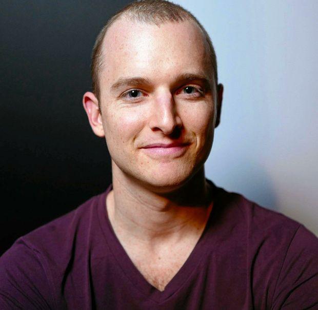 AWARD WINNER: Author and journalist Andrew McMillen.