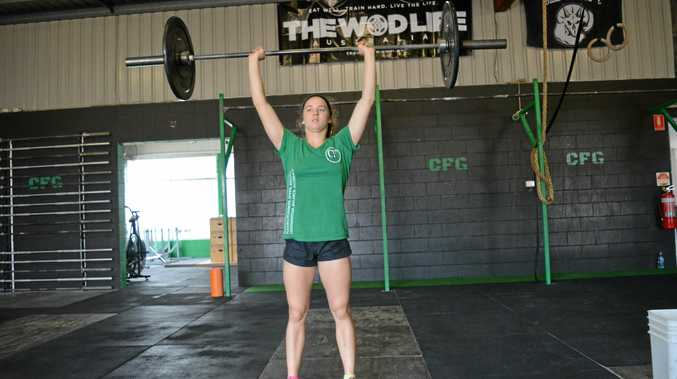 RISING TO FIRST: Michaela Warwick has spent hours training and it has all come to fruition.