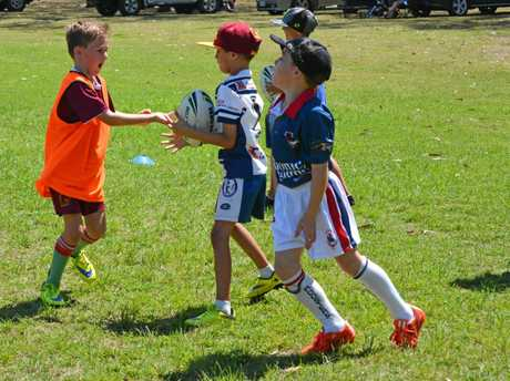 Action from Saturday's NRL Clinic held at Bunting Park, Calliope