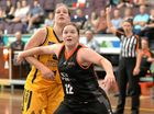 Mackay Meteorettes' Jacqui Zelenka stepped it up in her WNBL game with JCU Townsville against Sydney uni.