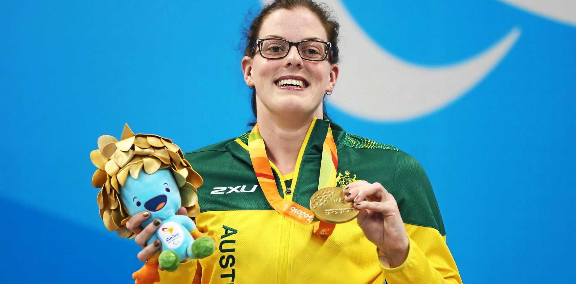 Gold medallist Rachael Watson of Australia.