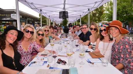 at Hastings Street's Long Lunchas part of the Noosa Food and Wine festival. Photo: John McCutcheon / Sunshine Coast Daily