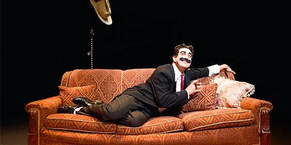 Frank Ferrante is on his way to Redland Performing Arts Centre with A Morning with Groucho.