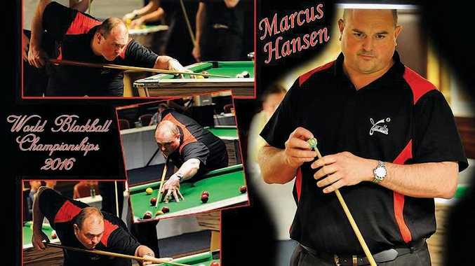 Marcus Hansen is cueing up for the World Blackball Championships in England next month.