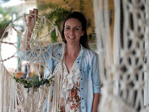 Creative mind spurs Megan's macrame