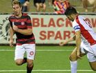 STAR RISING: Former Caboolture product Brenton Fox is making waves at Western Sydney Wanderers.
