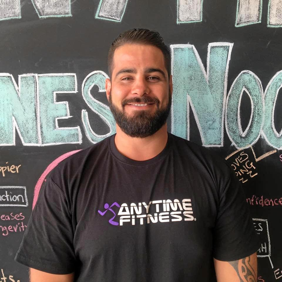 Anytime Fitness Noosa manager Ryan Charles is happy to help you feel comfortable in the gym.