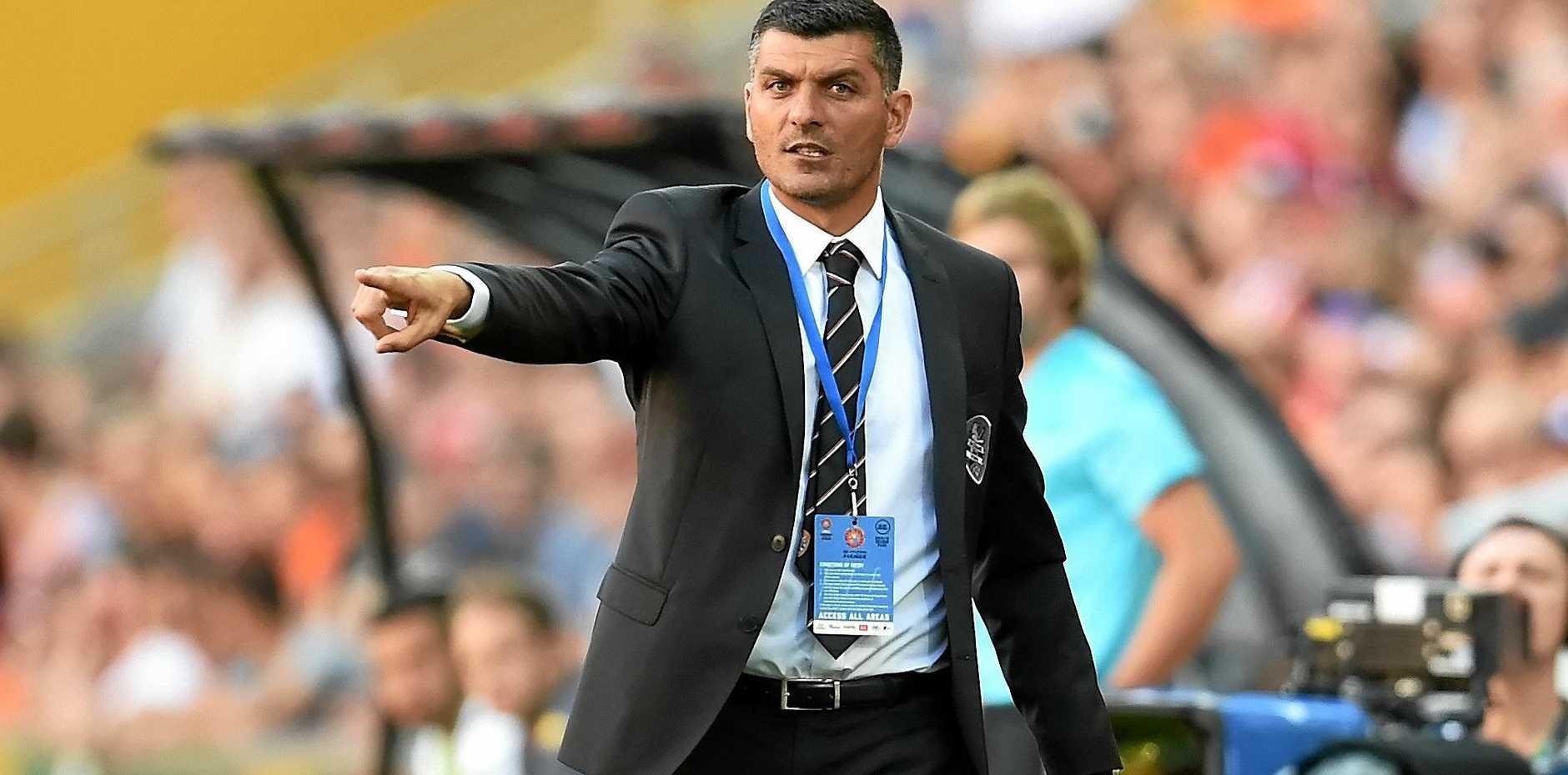 Brisbane Roar head coach John Aloisi is busy preparing his side for the new A-League season.