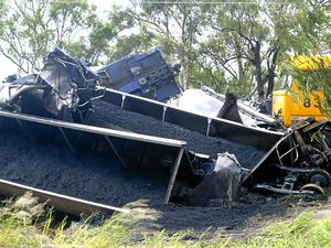 CQ train derailment damages 22km of track