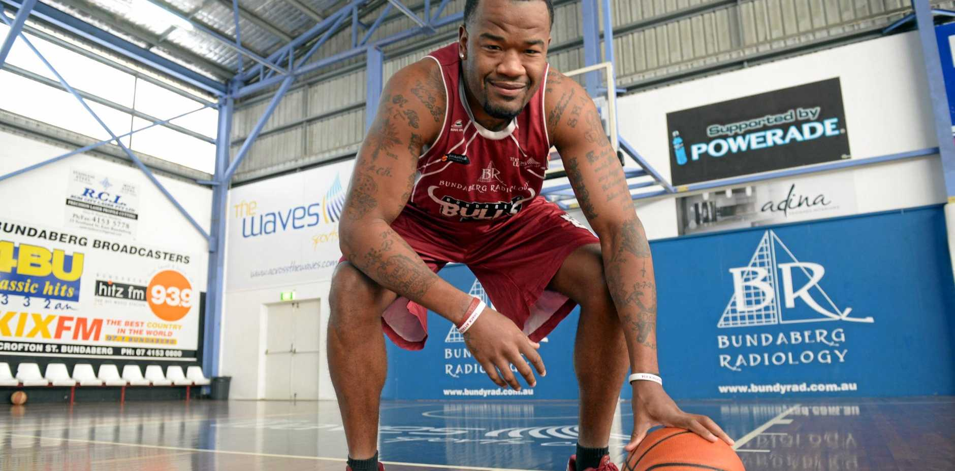 UNKNOWN: The future of Willie Shackleford (Shack) is now unclear after the Bulls and Bears were not entered into the 2017 QBL season. Photo: Max Fleet / NewsMail