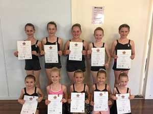 Dancers tap into top results