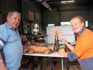 Wooden machines keep Bill at full revs