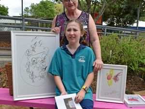 Frances' art earns exhibition