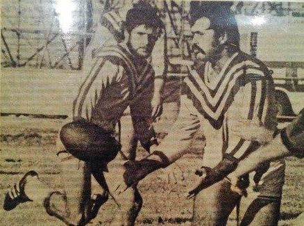 VALE: Wallumbilla has mourned the loss of Anthony Brown (right and inset), who was a noted rugby league player and builder.