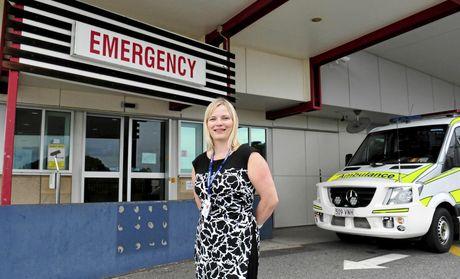 Gladstone-Banana Hospital's new Executive Director Joanne Glover.