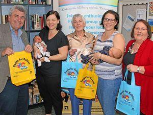 Literacy starter packs for babies