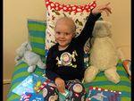Little battler Hayden, 4, not forgotten by Mackay