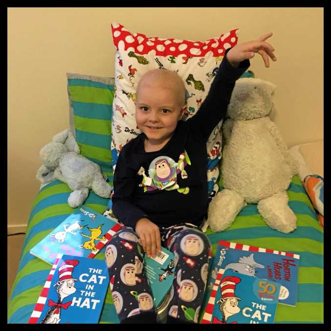Mackay groups have raised funds for Hayden Lee who is in Brisbane undergoing treatment for Acute Lymphoblastic Leukaemia.
