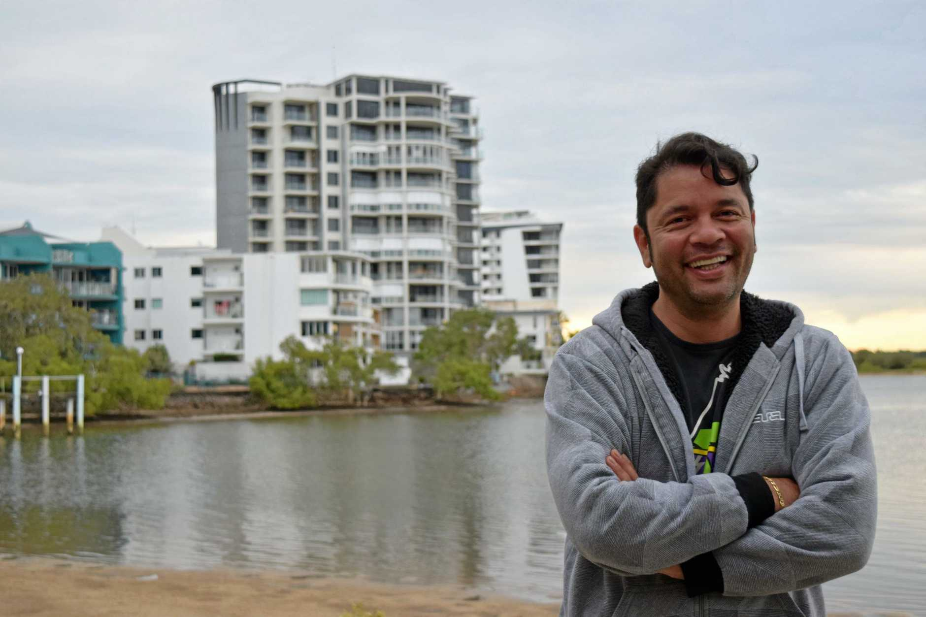 STICK TO THE LAW: Carlos Ceron is looking for an investment unit but wants developers to stick to the approvals they are given by local government.