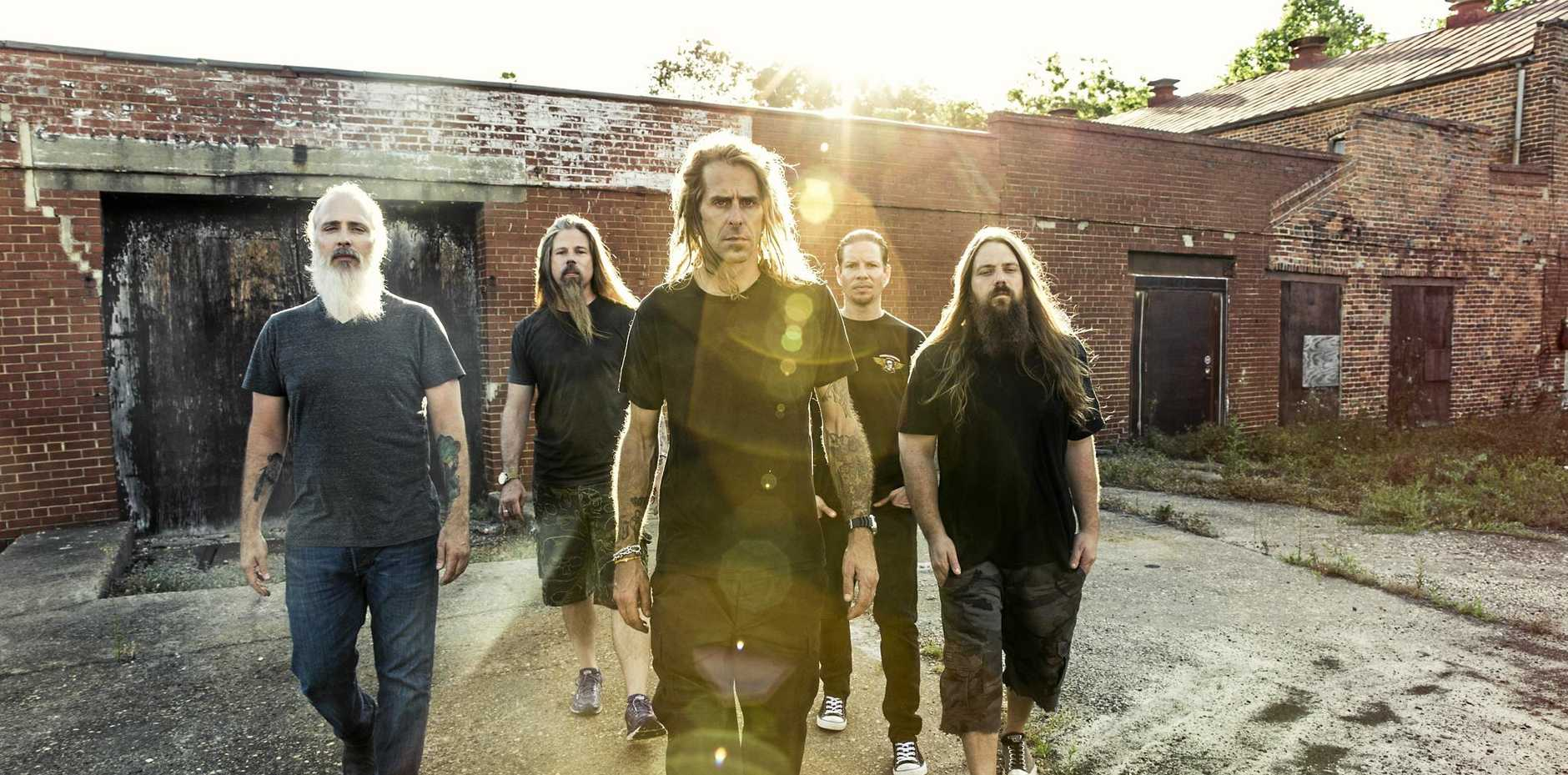 Lamb of God will tour Australia with Slipknot in October. Photo Contributed