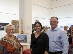 Andrea shows love of light through paintings of local scenes
