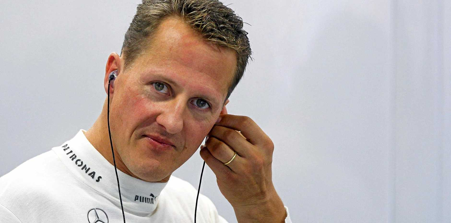 German Formula One driver Michael Schumacher in September 2012. The seven-time Formula One champion is still recovering from a head injury sustained in a ski accident.