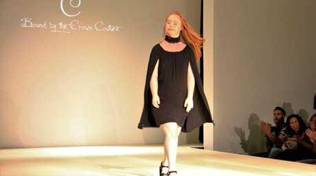Maddy was at New York Fashion Week.