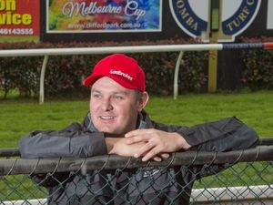 Chris Nation on track with Clifford Park