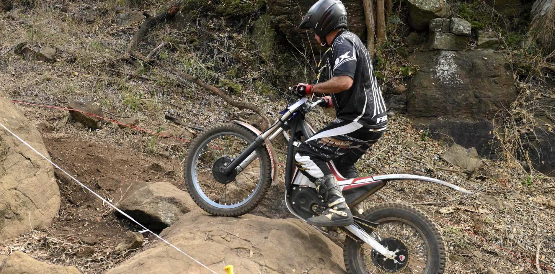Riders will put their cross country skills to the test as the motorcycle trials arrive in Stanthorpe.